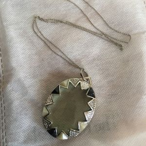 House of Harlow long glass necklace